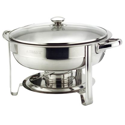 """Picture of ROUND CHAFER 30 CM / 12""""  4.5 L FOOD PAN"""