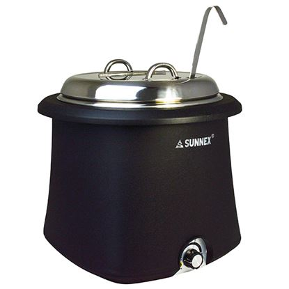 Picture of GALENA SOUP KETTLE 10L SS LID- BLACK