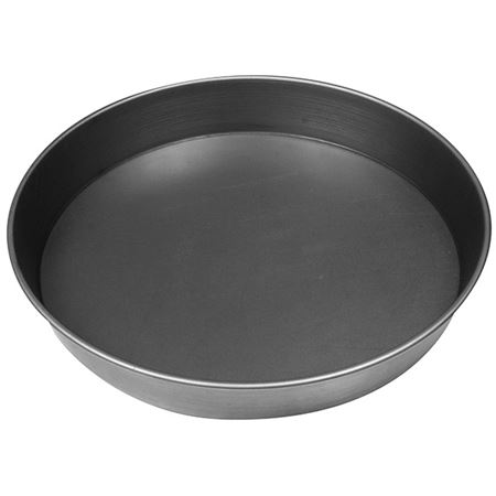 """Picture of ALUMINISED """"BLACK IRON""""  PIZZA PAN 9""""/23cm"""