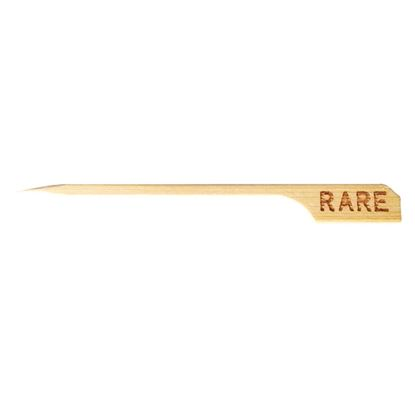 Picture of BAMBOO BRANDED SKEWERS- RARE PACK 100 pcs