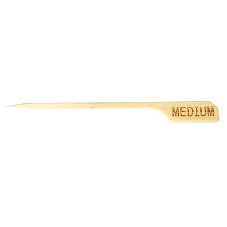 Picture of BAMBOO BRANDED SKEWERS- MEDIUM PACK 100pcs