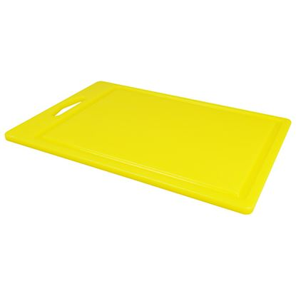 """Picture of CHOPPING BOARD 14"""" X 10 X 0.5"""" YELLOW"""