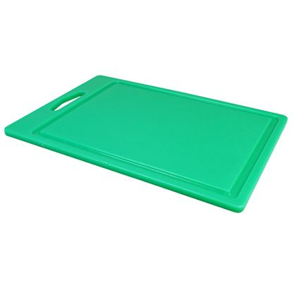 """Picture of CHOPPING BOARD 14"""" X 10"""" X 0.5"""" GREEN"""