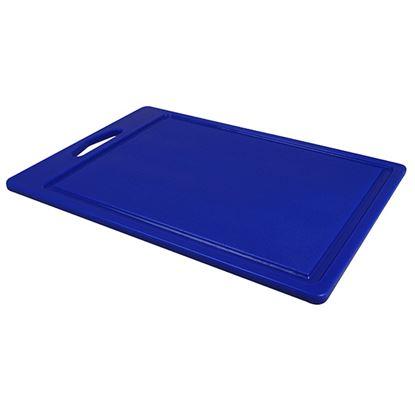 "Picture of CHOPPING BOARD 14"" X 10"" X 0.5"" DARK BLUE"