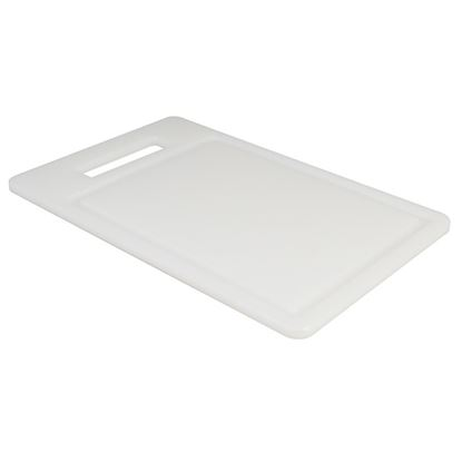 """Picture of CHOPPING BOARD 8"""" X 12"""" X 0.5""""  WHITE"""