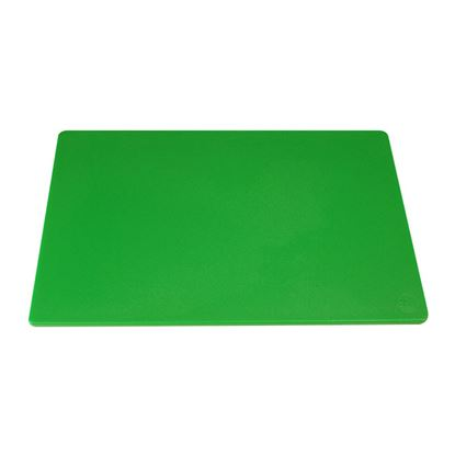 """Picture of CHOPPING BOARD 18"""" X 12"""" X 0.5"""" GREEN"""