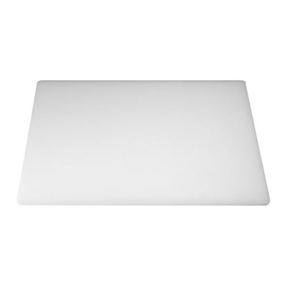 """Picture of CHOPPING BOARD 18"""" X 12"""" X 0.5"""" WHITE"""