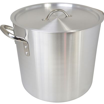 Picture of ZSP ALUMINIUM STOCKPOT WITH LID 40 Ltr aprx