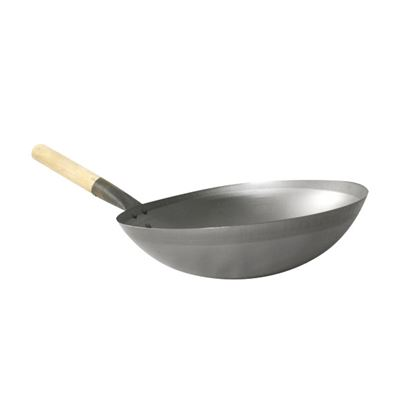 Picture of ORIENTAL WOK WOODEN HANDLED 30 CM