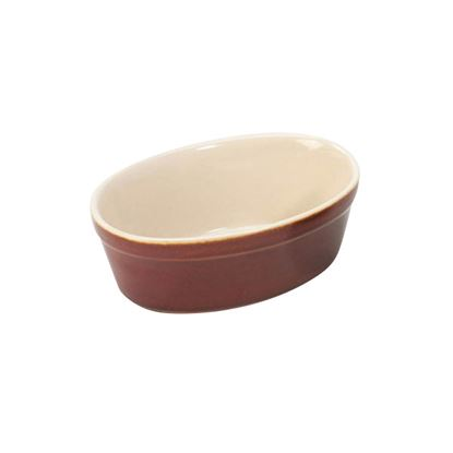 Picture of PACK OF 4 FARMHOUSE PIE DISH 16.5x11x5.5CM