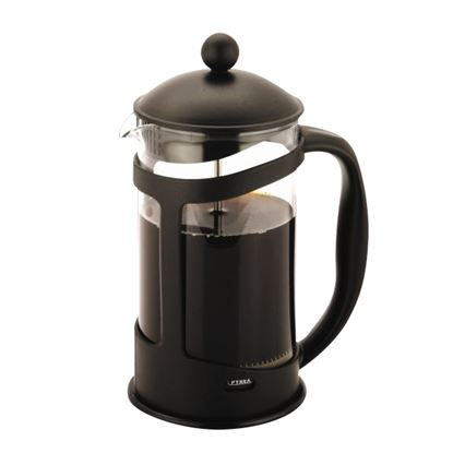 Picture of 'COLOURS'  6 CUP CAFETIERE - BLACK