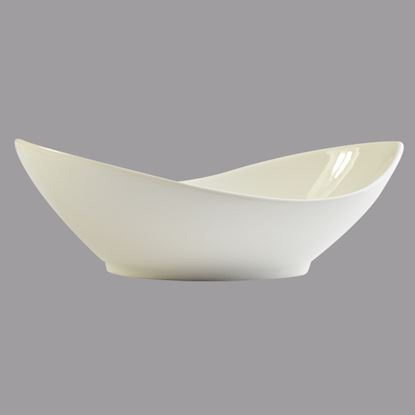 """Picture of ORION OVAL TWIST DISH 10"""""""