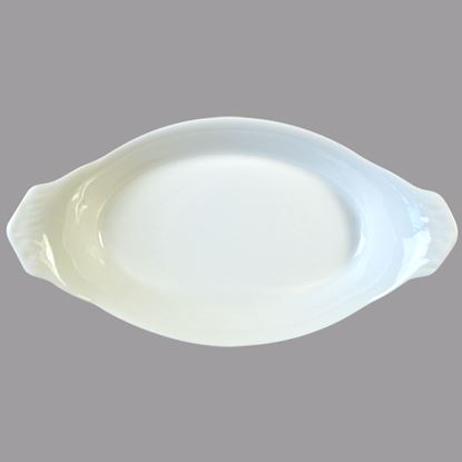 """Picture of ORION OVAL EARED DISH 25.5 CM / 10"""""""