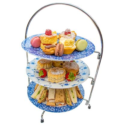 Picture of CHROME WIRE CAKE STAND