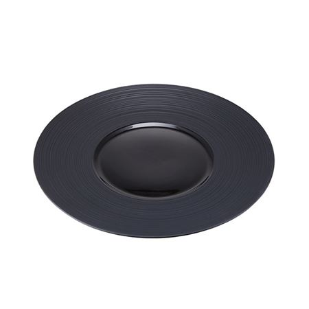 Picture of CONTRA RIBBED ROUND PLATE 31CM