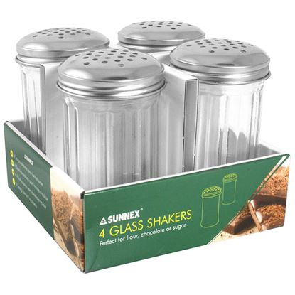 Picture of LARGE GLASS SHAKERS 4 PACK700ml / 24.5fl.oz