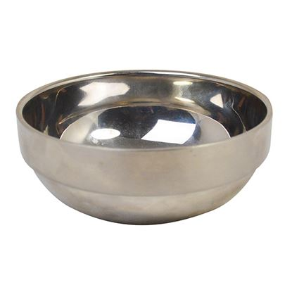 Picture of SS DOUBLE WALLED BOWL- 12CM 9.5OZ 270ML