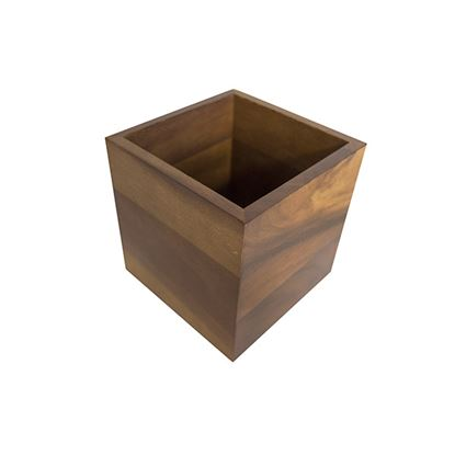 Picture of WOODEN ACACIA PRESENTATION CRATE 12.3CM