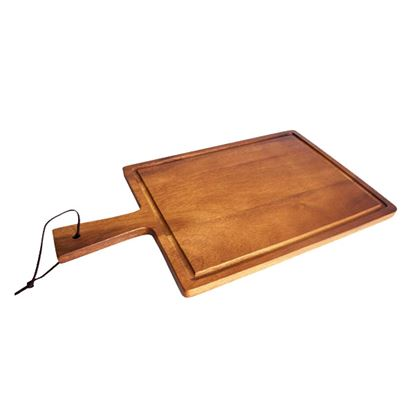 Picture of WOODEN ACACIA PRESENTATION PADDLE BOARD