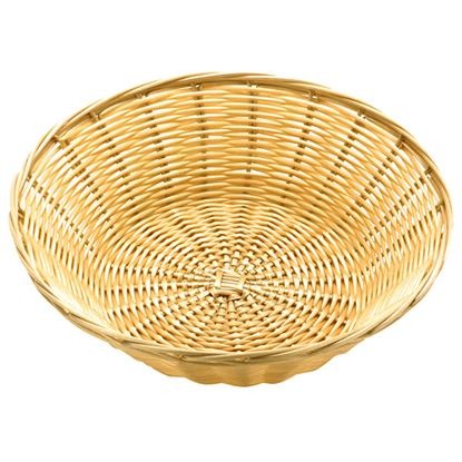 """Picture of POLY RATTAN BASKET ROUND 25 CM / 10"""""""
