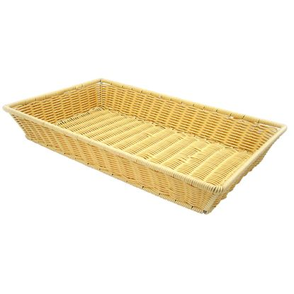 Picture of POLYRATTAN BASKET HEAVY DUTY RECT 53x32x9cm