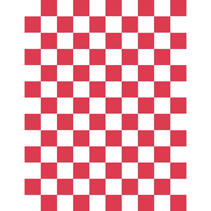 Picture of RED CHECK GP PAPER 500 SHEETS 25cm X 20cm