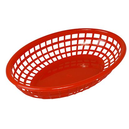 Picture of FAST FOOD BASKET RED 26 X 18CM (Pack of 6)