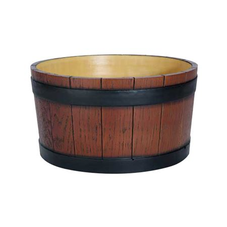 Picture of BARREL END ICE TUB 11L (WOOD GRAIN)