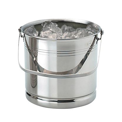 """Picture of ICE BUCKET STAINLESS STEEL H5.25""""XD5.25"""""""