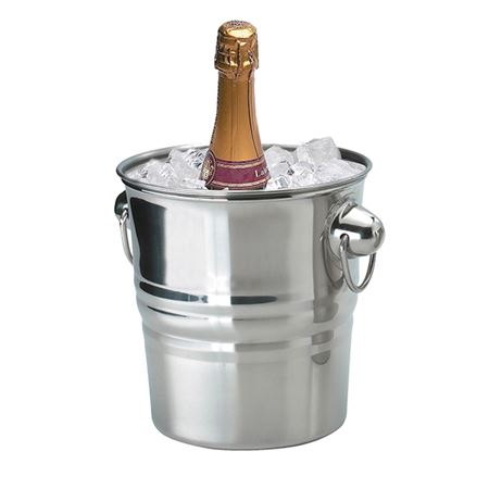 """Picture of CHAMPAGNE BUCKET S/STEEL H8""""XD7"""" 4.5LTR"""