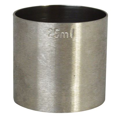 Picture of SPIRIT MEASURE STAINLESS STEEL 25 ML