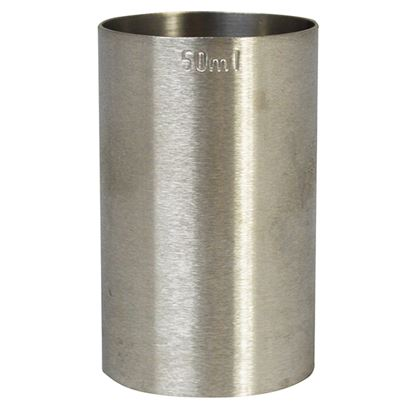 Picture of STAINLESS STEEL SPIRIT MEASURE 50 ML