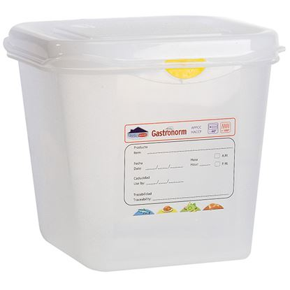 Picture of PRO COLOUR CODED CONTAINER 1/6 2.6LTR