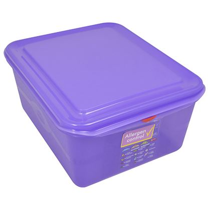 Picture of PRO COLOUR CODED CONTAINER 1/2 10LTR - PURPLE