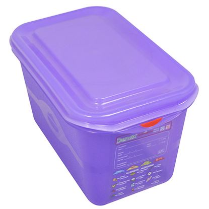 Picture of PRO COLOUR CODED CONTAINER 1/3 6LTR - PURPLE