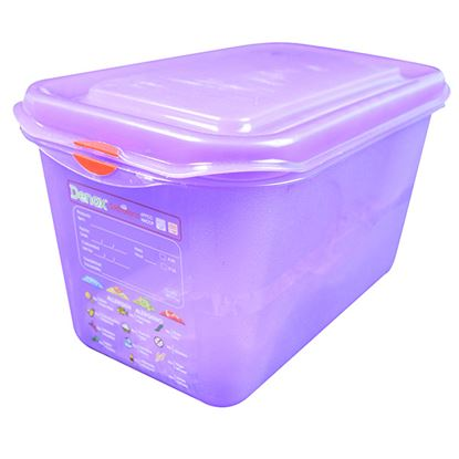Picture of PRO COLOUR CODED CONTAINER 1/4 4.3LTR- PURPLE