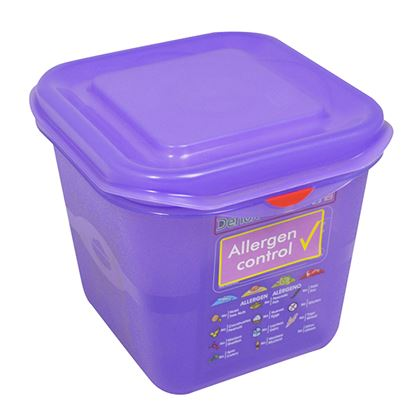 Picture of PRO COLOUR CODED CONTAINER 1/6 2.6LTR- PURPLE
