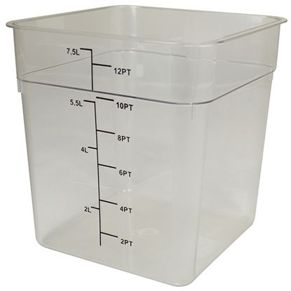 Picture of CLEAR ABS CONTAINER 7lt