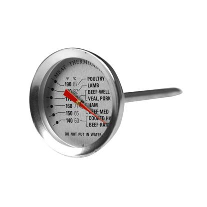 """Picture of THERMOMETER MEAT PROBE 2"""" (-55C to 87C)"""