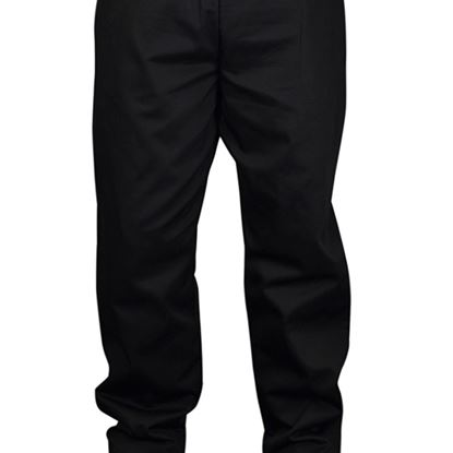"""Picture of BLACK BAGGY TROUSER X-SMALL 26-28"""""""
