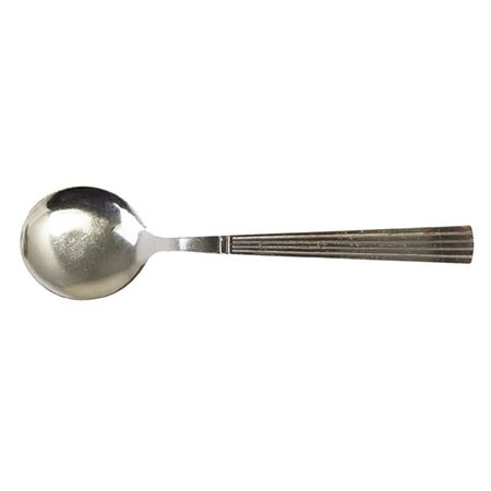 """Picture of """"LINEA"""" SOUP SPOON Pack of 4"""