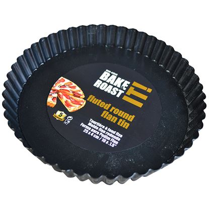 Picture of NON STICK ROUND FLUTED FLAN TIN 26CM x 2.5cm