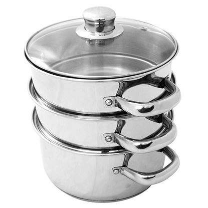 Picture of ULTRA STEAMER 3 TIER S/S 20 CM / 2.5 LTR