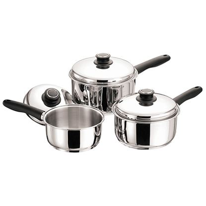 Picture of SAUCEPAN 3PC SET 16/18/20 CM POLISHED