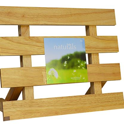 Picture of 'NATURALS ' COOK BOOK HOLDER RETRO STYLE