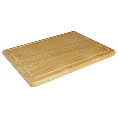 Picture of 'NATURALS' CHPPNG BOARD WI GROOVE 29x20x1.2cm