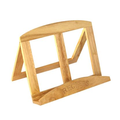 Picture of 'NATURALS' WOODEN COOK BOOK STAND