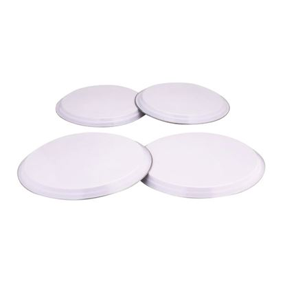 Picture of 'COLOURS' 4pc HOB COVERS - WHITE