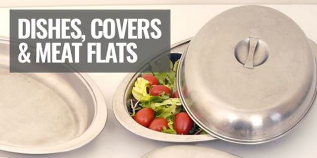 Picture for category Dishes Covers & Meat Flats