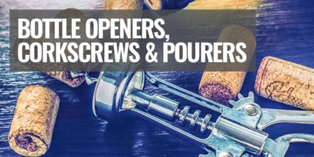 Picture for category Bottle Openers, Corkscrews & Pourers